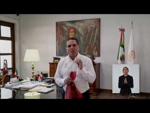 Mensaje a las y los michoacanos - 17 abril - Silvano Aureoles Conejo
