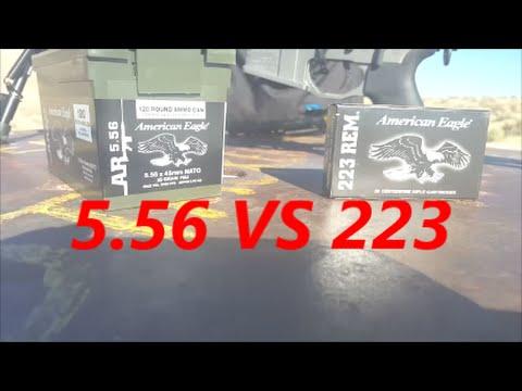 5.56 x 45mm NATO VS 223 REM 55 GRAIN FMJ ACCURACY TEST