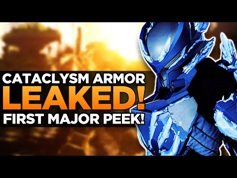 *NEW* Anthem Cataclysm Leaks | Event Armor Sets Revealed!