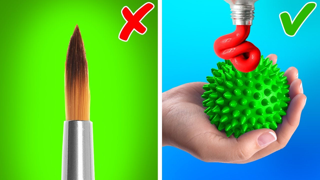 Easy Painting Hacks And Drawing Tutorial For Beginners || Mesmerizing Ways To Create Art
