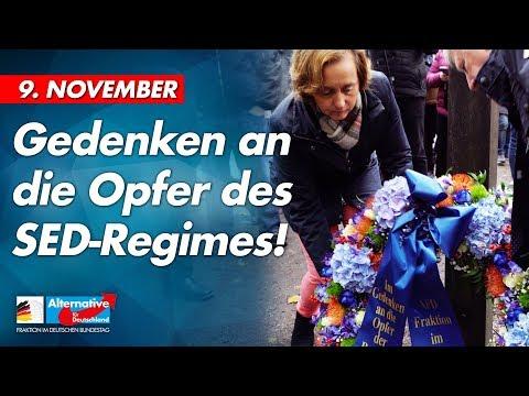 9. November: Gedenken an die Opfer des SED-Regimes! - AfD-Fraktion im Bundestag