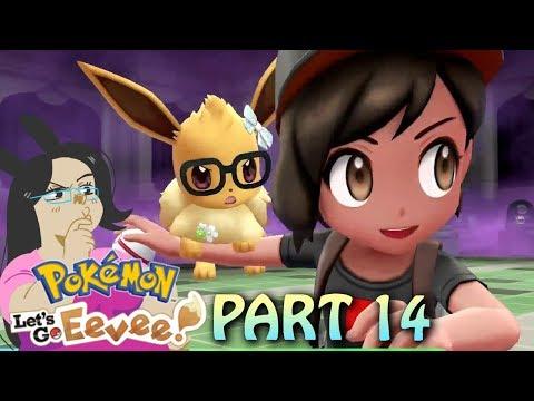 Saving Cubone from Team Rocket! Pokemon Lets Go Eevee! Part 14