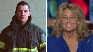 9/11 hero gives the gift of life to a total stranger