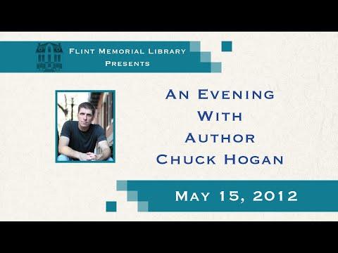 An Evening With Chuck Hogan 2012   Flint