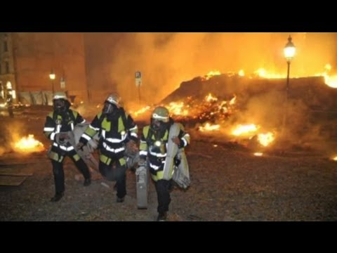 Fliegerbombe In München Schwabing Explodiert! Bilder Der Feuerwehr