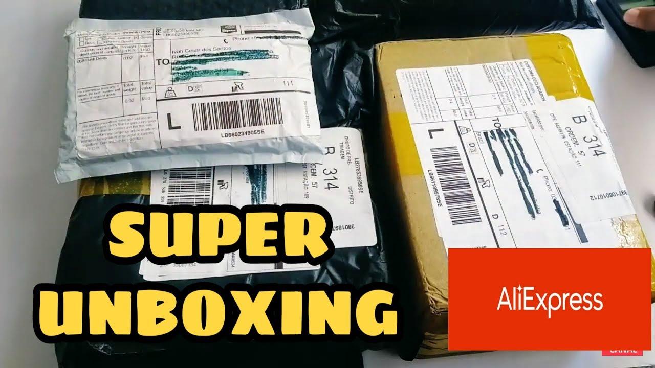 Super Unboxing Aliexpress/ 100% de Lucro no Mínimo