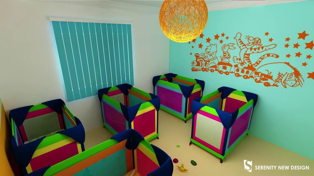 Ordinaire Image Jardin D Enfant #14: Conception 3D Crèche U0026 Jardin Du0027enfant Disney House - YouTube