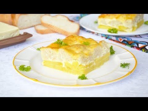 Цветная капуста с картошкой в духовке