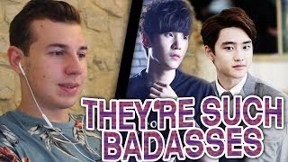 Video D.O (EXO) FT. SUGA (BTS) - DON'T MESS WITH THESE GUYS REACTION!!! download MP3, 3GP, MP4, WEBM, AVI, FLV Agustus 2018