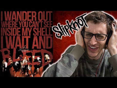 Slipknot  Wait And Bleed HIPHOP HEAD REACTION TO METAL!!