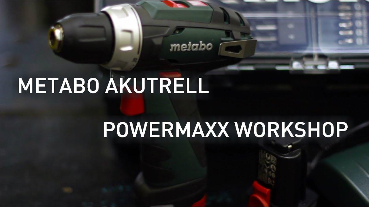 8a2356e8717 Metabo akutrell PowerMaxx workshop - Stokker - tööriistad, masinad, hooldus