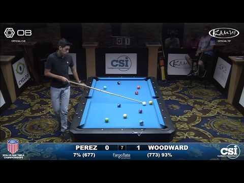 2016 US Bar Table Championships 10-Ball: Manuel Perez vs Skyler Woodward