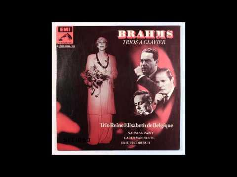 Brahms, Piano Trio, Opus Posthumous Trio in A major , Trio Reine Elisabeth de Belgique