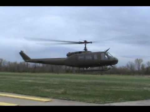 UH-1H Huey startup