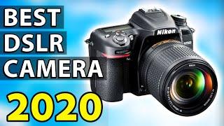 ✅ TOP 5: Best DSLR Camera 2020