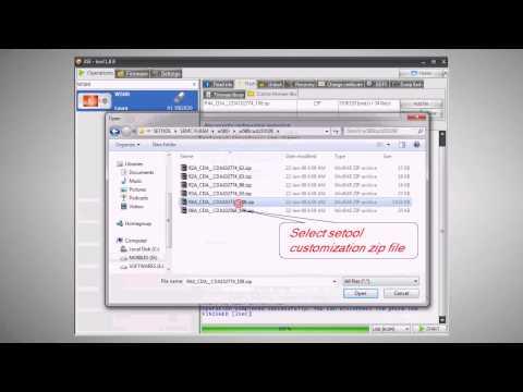 4SE Featuring configuration error with setool customization file