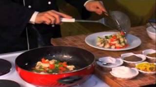 Китайская кухня, курица с арахисом