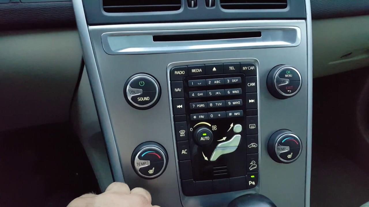 Volvo XC60 2011 D5 AC compressor sound