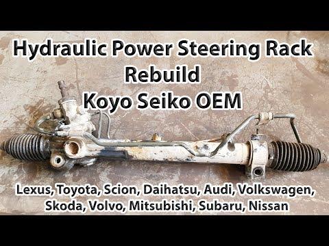 Hydraulic Power Steering Rack Rebuild. Koyo OEM