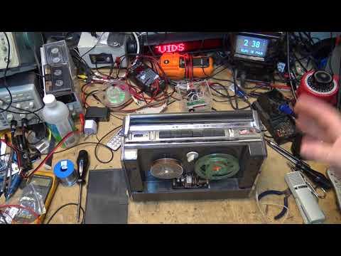 Grundig TK6 Reel to Reel Tape Recorder repair