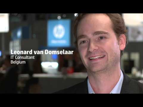 HP Discover Frankfurt 2012 - Employee Ambassadors Video 2