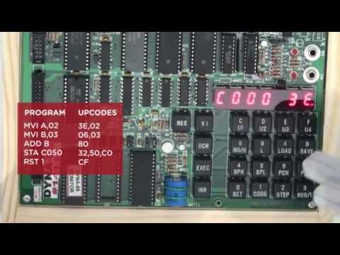 8085 Microprocessor Trainer Kit (Dyna-85)