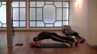 Gainage abdos niveau débutant – Circuit ventre plat