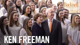 Bucknell University: Ken Freeman