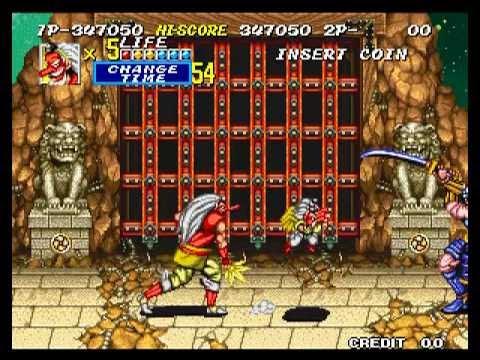 Arcade Longplay [097] Sengoku 2