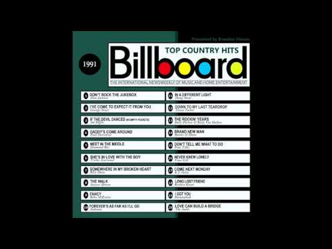 Billboard Top Country Hits - 1991
