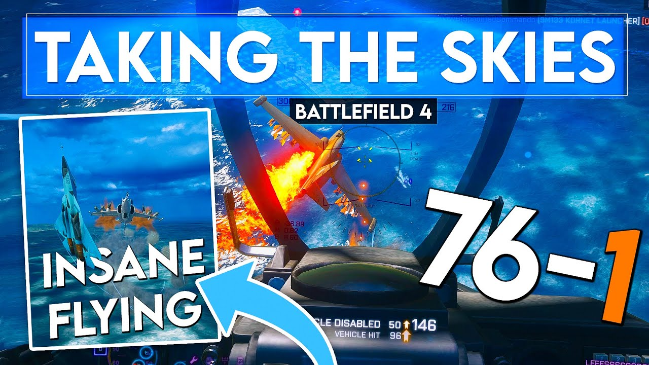 Why Air Superiority is CRUCIAL in Battlefield 4...