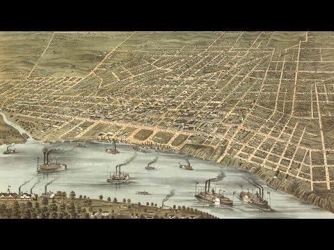 Memphis History and Cartograph (1870)