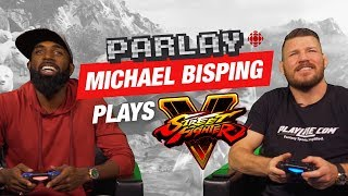 UFC Fighter Michael Bisping plays Street Fighter V | Parlay