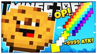 *ROCK CANDY SWORD MOD* COOKIE CAMP GAMEMODE THE BEST GAMEMODE EVER CREATED | MINECRAFT COOKIE CAMP!