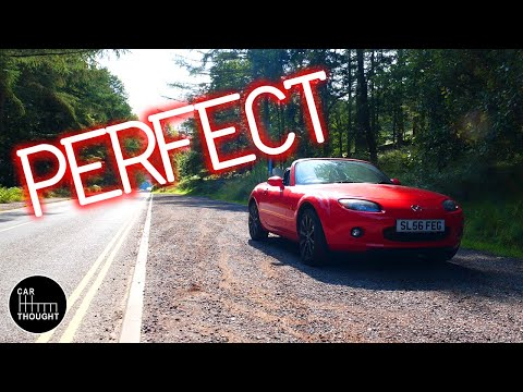 Finding The Best Driving Road In The UK! - Mazda Mx5