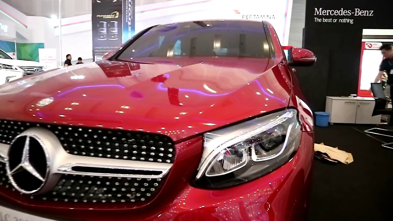 Mercedes Benz Glc 300 4 Matic Couple 2018 Red Colour Youtube