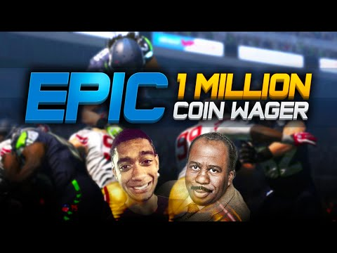 Madden NFL 15 Ultimate Team - EPIC NAIL BITING 1 MILLION COIN WAGER VS. CULLENBURGER - MUT 15