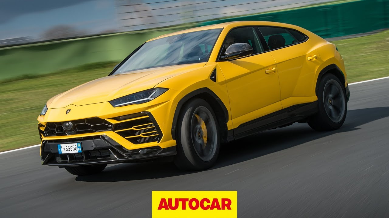 Lamborghini Aventador Roadster Review >> Lamborghini Urus 2018 Review | new Lambo 4x4 driven on and off-road | Autocar - YouTube