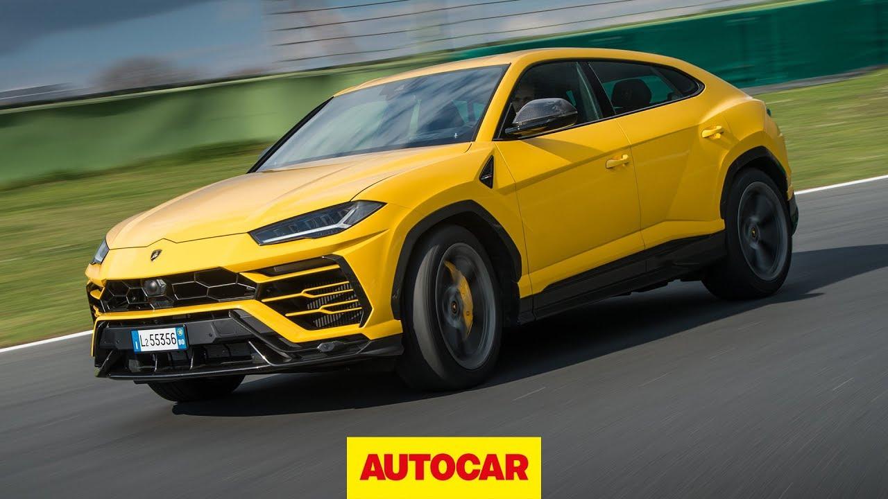 Lamborghini Urus 2018 Review New Lambo 4x4 Driven On And