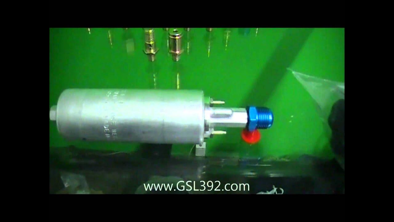Walbro High Performance GSL392 Universal Inline Fuel Pump
