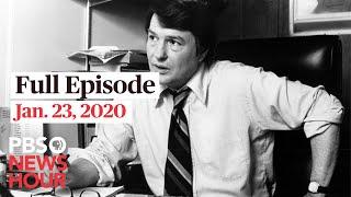 PBS NewsHour West live episode, Jan 23, 2020