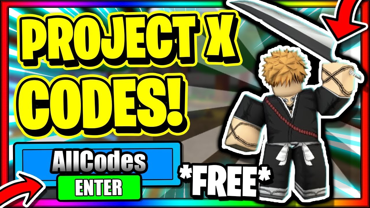 Project X Codes Roblox July 2020 Mejoress