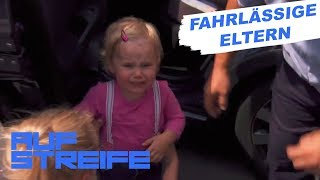 Kind bei Hitze alleine im Auto gelassen   Auf Streife   SAT.1 TV