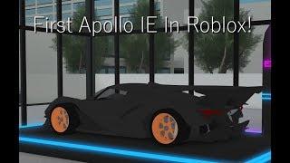 prima IE Apollo In Roblox!