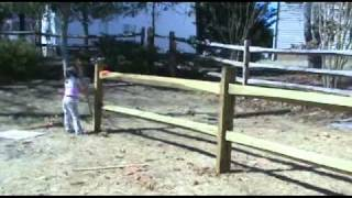 Garden Plot 2011 - Part 1: Fence