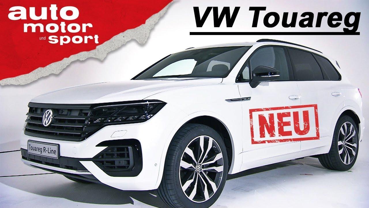Der neue VW Touareg (2018): Erste Sitzprobe - Neuvorstellung/Review | auto motor & sport