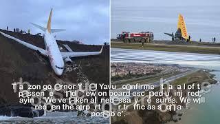 Jet that s hot off Turkish runway 'had engine power surge'