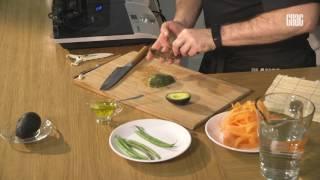"""""""Блюдо дня"""". (Салат из стручковой фасоли с морковью и арахисом)"""