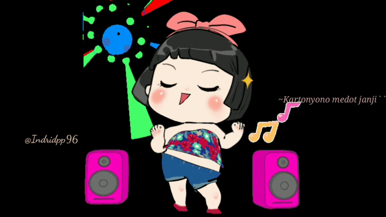 Status Wa animasi lucu kekinian hits goyang-goyang