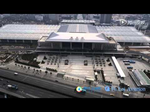 China high speed rail FuZhou Railway Station